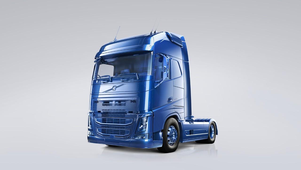 Din lastvogn er dækket af en aftalt serviceplan