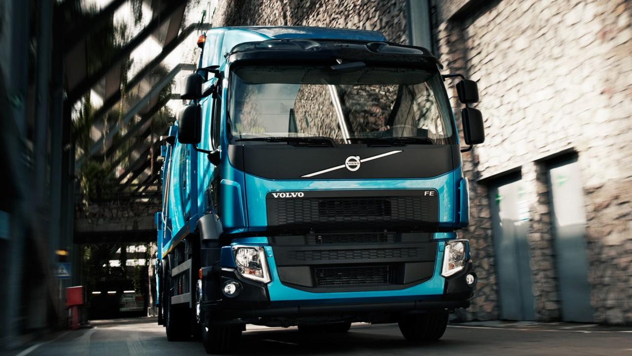 FE- og FL-lastvogne har fjernforbindelse til Volvo